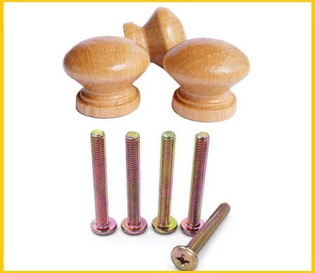 Pomelli in legno grezzo