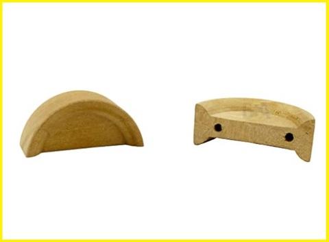 Pomello legno mezzaluna