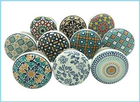 Pomelli ceramica vintage