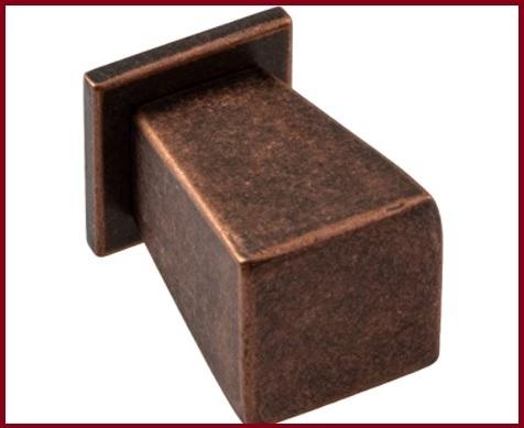 Pomello quadrato cassetti