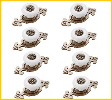 Pomelli Cucina Ceramica Ottone