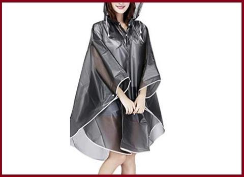 Poncho impermeabile donna pioggia
