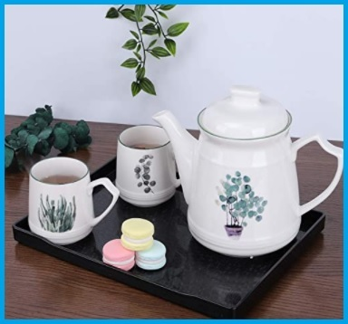 Porcellana servizio tè