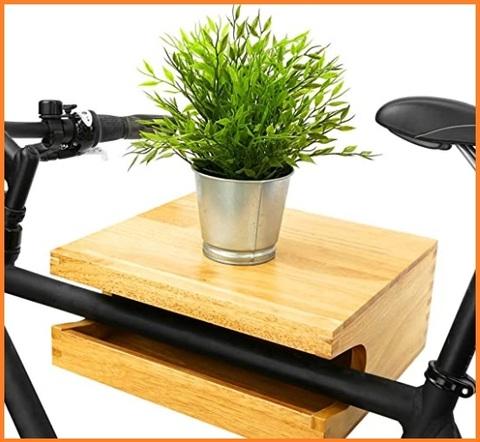 Gancio bicicletta legno