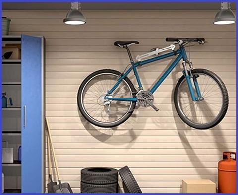 Bicicletta supporto muro