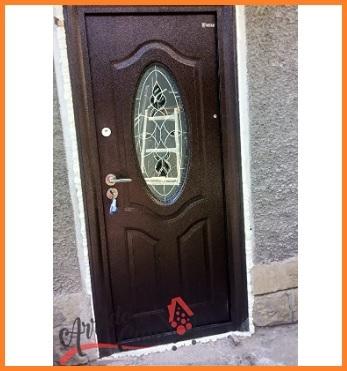 Porta Blindata Ingresso Con Vetro