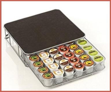 Porta capsule contenitore universale in metallo