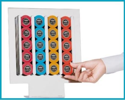 Porta capsule lavazza moderno