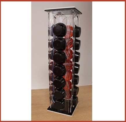 Porta capsule in plexiglass