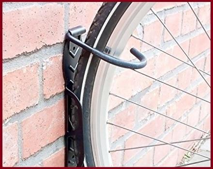 Portaciclo a muro staffa
