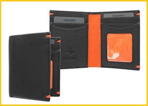 Portafoglio da uomo arancione