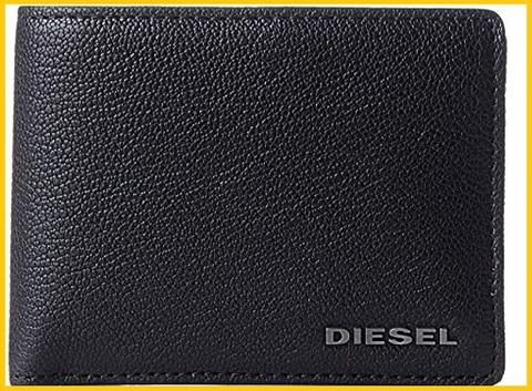 Portafoglio diesel in pelle
