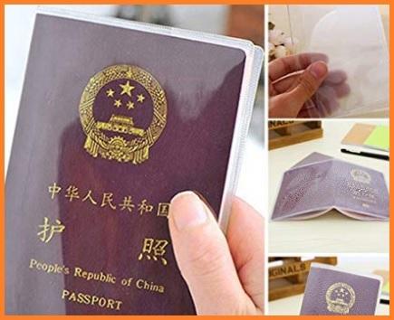 Porta Passaporto Trasparente