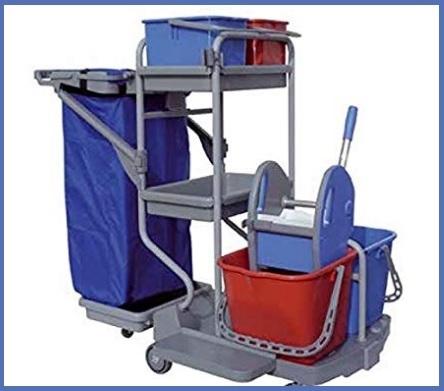 Porta sacchi con ruote per immondizia