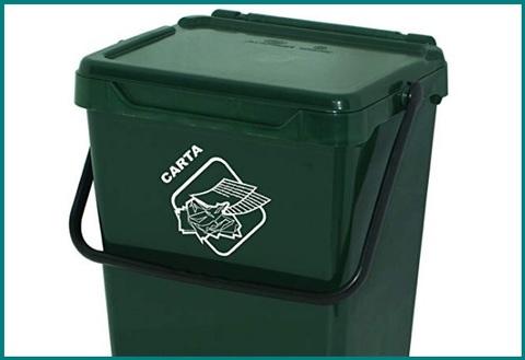 Porta sacchi spazzatura da esterno
