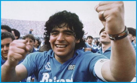 Poster Maradona Napoli
