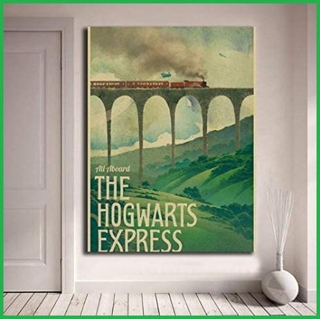 Poster harry potter vintage