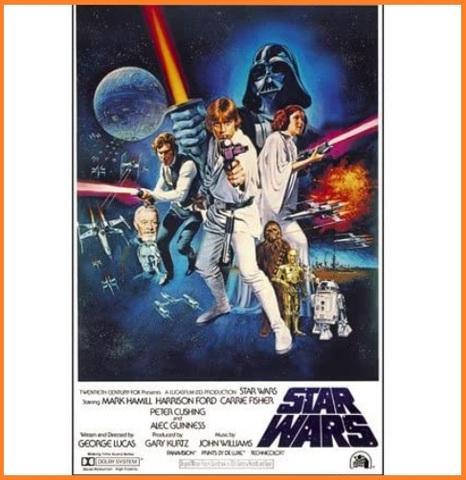 Poster star wars locandina