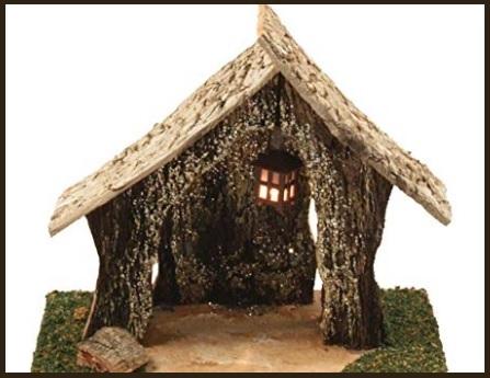 Presepi miniature legno