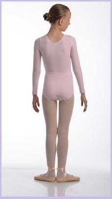 Abbigliamento danza classica per bambina body