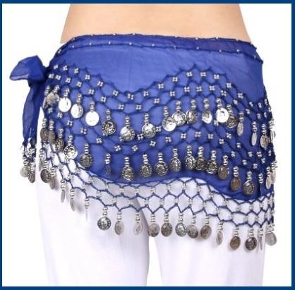 Abbigliamento Danza Del Ventre Professionale Blu