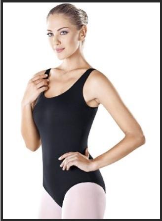 Abbigliamento Danza Donna Body Senza Maniche