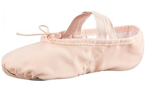 Mezze punte scarpetta per danza con punte in lino