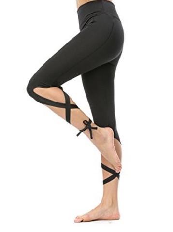 Leggings Comodi Per Danzare Con Lacci