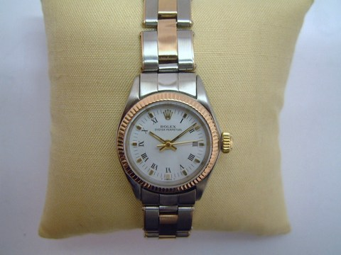 Rolex lady ribattini