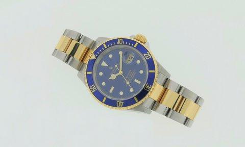 Rolex Submariner 16613 Acciaio E Oro