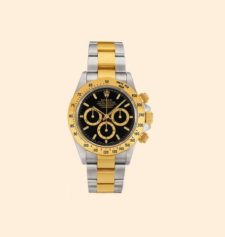 Rolex daytona acciaio e oro