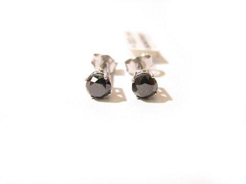 Orecchini diamante nero