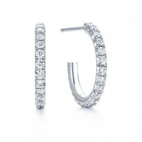 Mezzo cerchio diamanti