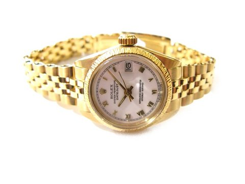 "Rolex "" lady - datejust "" ref. 6927 in oro 18 kt"