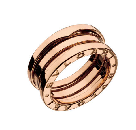 Anello bvlgari bzero1 rose gold