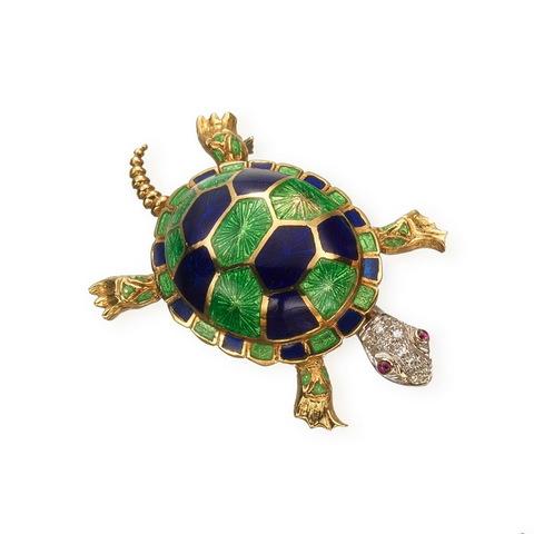 Spilla tartaruga
