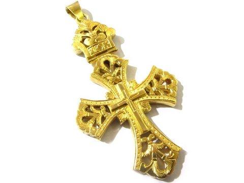 Croce antica oro giallo