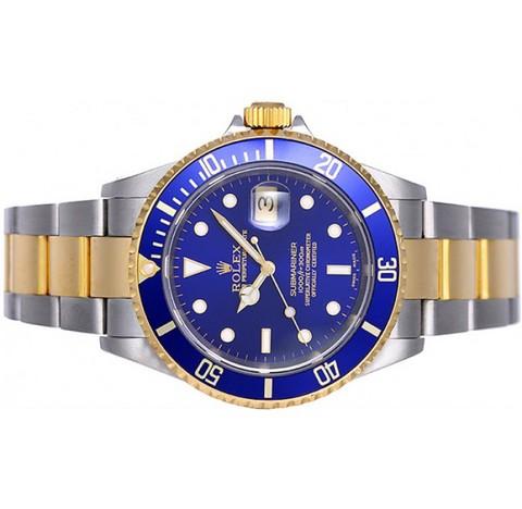 Rolex 16613 submariner date acciaio e oro