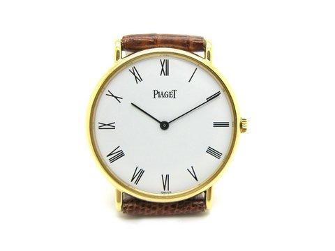 "Piaget extra-plat, vintage, ref. "" 9025 n "" oro giallo"