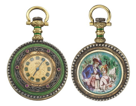 Melux orologio epoca pocket watch lugano collector