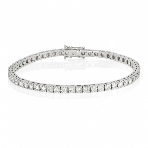 Bracciale tennis diamanti ct 2.85 occasione lugano scontato