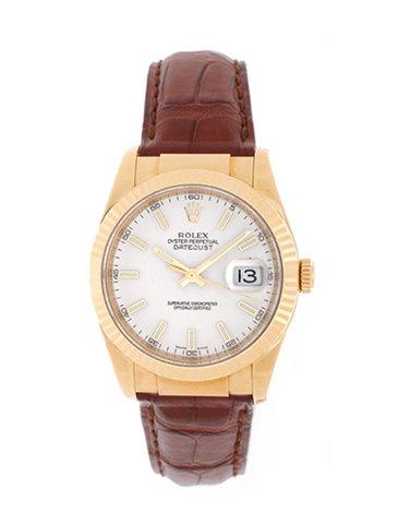 """Rolex  """" Datejust """" Ref. 116138  In Oro Giallo"""