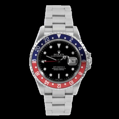 """Rolex  """" Gmt Master Ii """" Ref. 16710 Pepsi Lugano"""