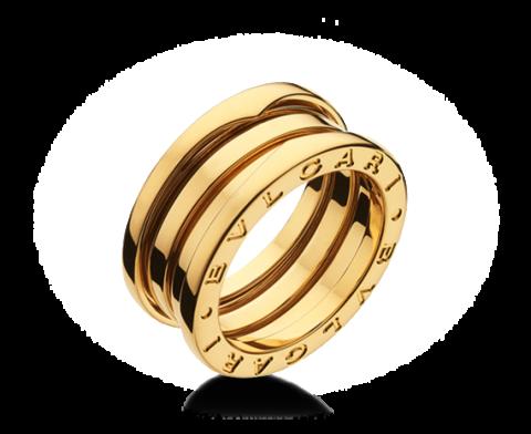 Anello bvlgari bzero1 ref. an191023 oro giallo lugano