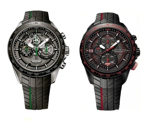 Graham silverstone green limited 250 pcs endurance red