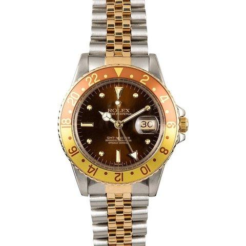 "Rolex "" Gmt - Master "" Ref. 16753 Del 1980"