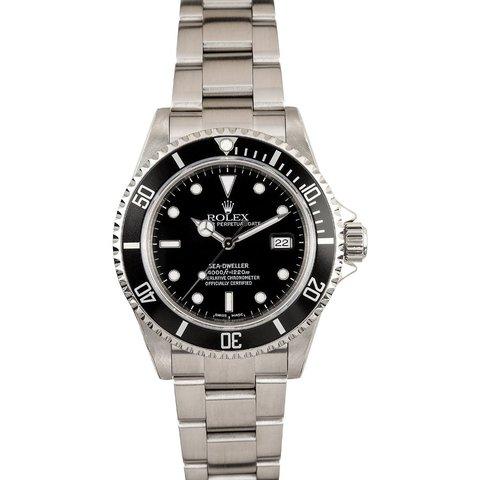 """Rolex """" Sea -dweller """" Ref. 16660 Collezione Lugano Vintage"""