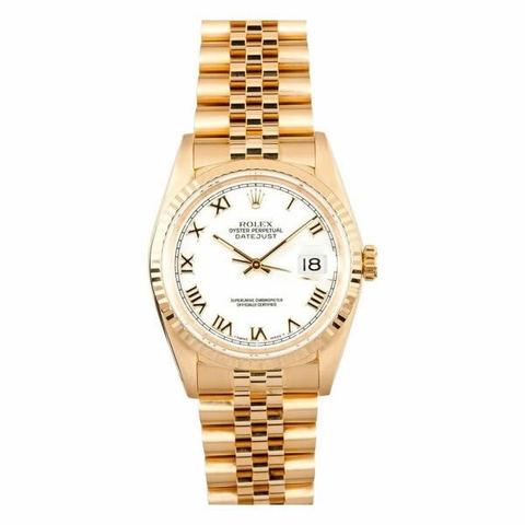 Rolex  datejust ref.16238 in oro 18 kt occasione lugano