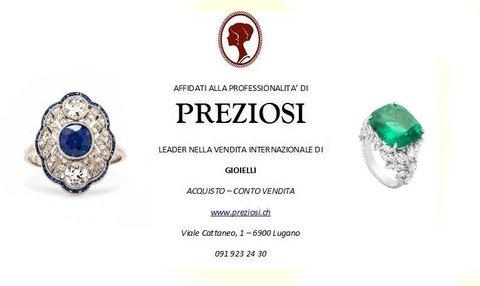 Compravendita Acquisto Vendita Gioielli Importanti Lugano