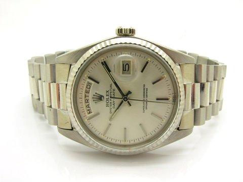 """Rolex """" Day - Date """" Ref.1803 Oro Bianco Lugano Occasione"""